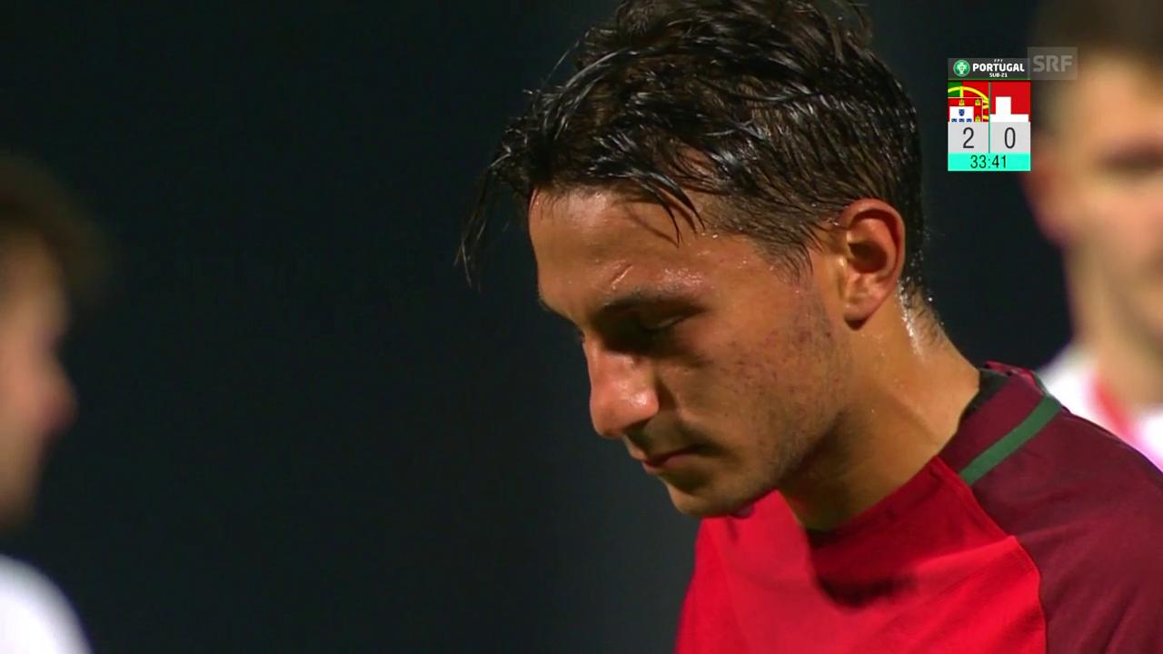 Gonçalves verschiesst Penalty gegen die Schweiz
