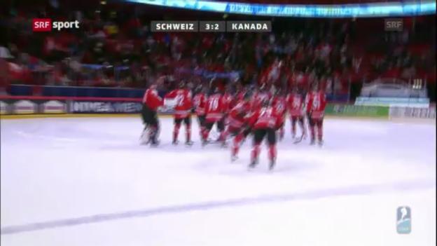 Video «WM: Spielbericht Schweiz - Kanada («sportpanorama»)» abspielen