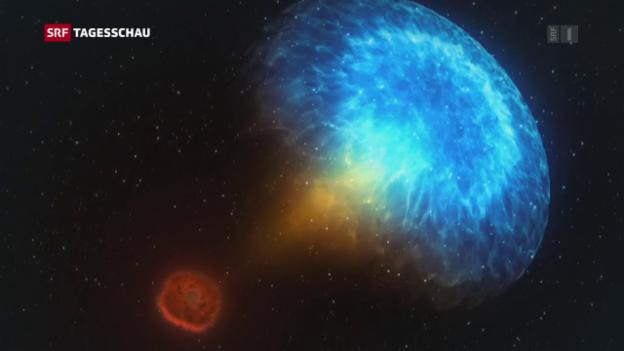 Gravitationswellen Wenn Neutronensterne kollidieren