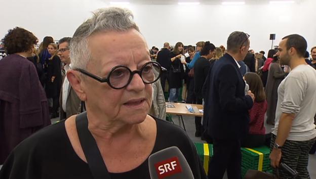 Video «Christa de Carouge über Magermodels» abspielen