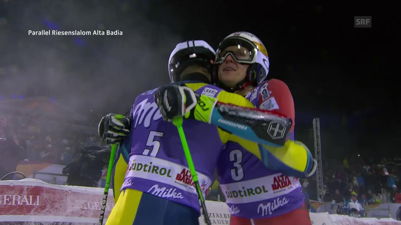 Olsson schlägt Kristoffersen im Final von Alta Badia