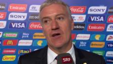 Video «Die Trainer der Schweizer Gegner im Interview» abspielen