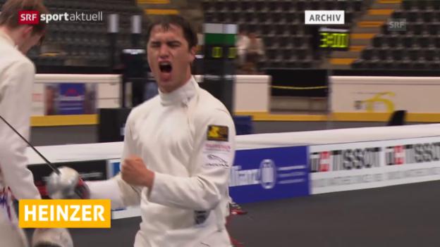 Video «Fechten: Max Heinzer mit 8. Weltcup-Sieg («sportaktuell»)» abspielen