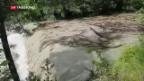 Video «Heftige Gewitter führen zu Überschwemmungen» abspielen