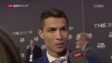 Video «Cristiano Ronaldo zu seiner Wahl» abspielen