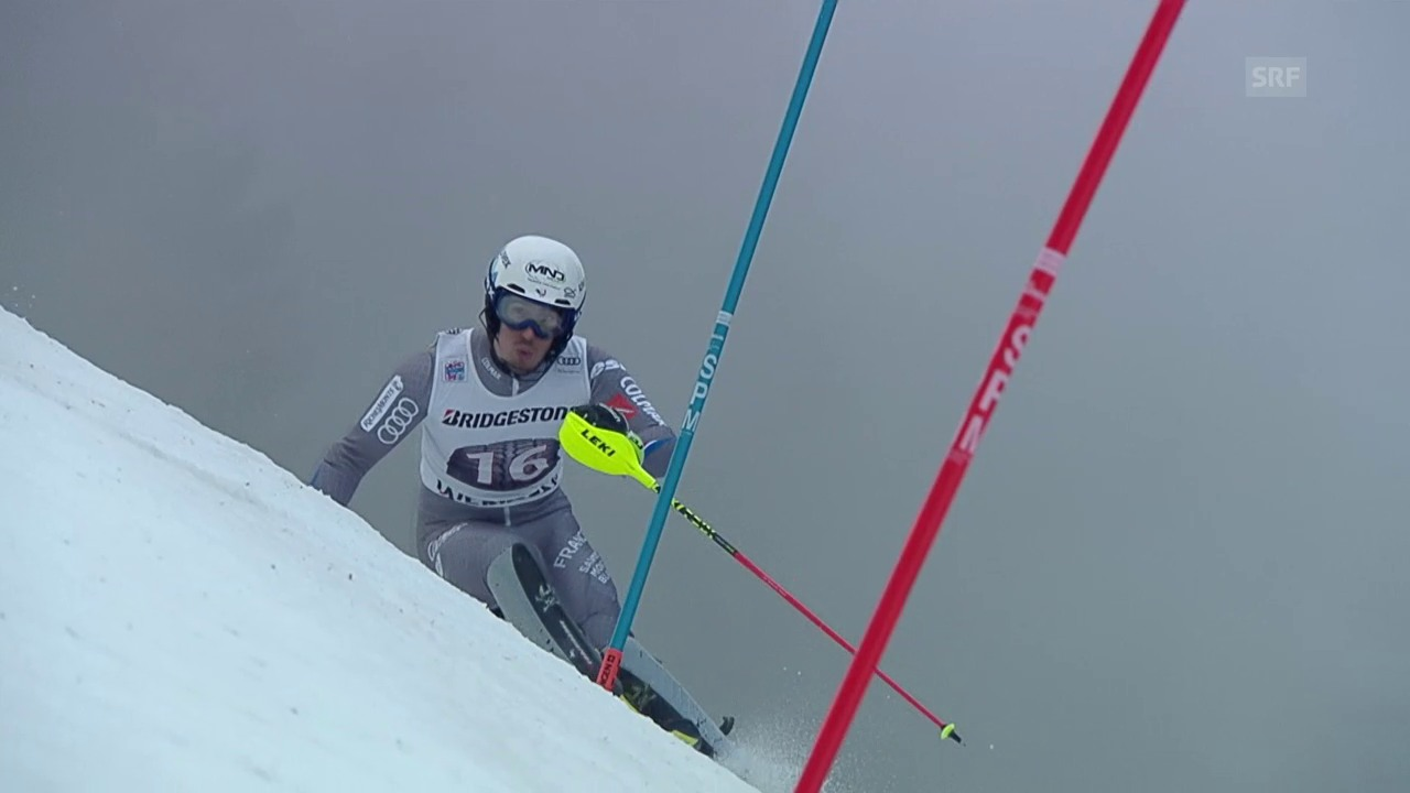 Zusammenfassung Alpine Kombination in Wengen