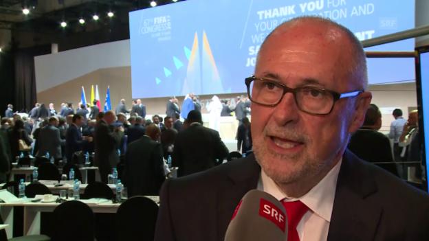 Video «SFV-Präsident Gilliéron: WM-Quali wird einfacher» abspielen