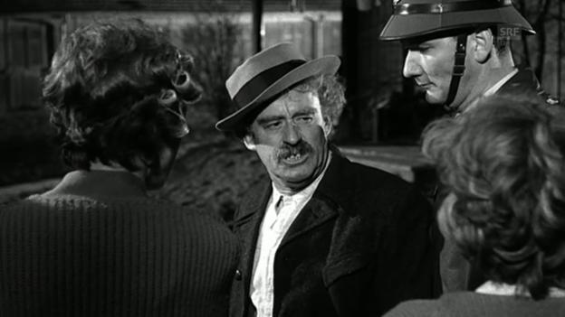 Video ««Es Dach überem Chopf», 1962 (Filmausschnitt)» abspielen