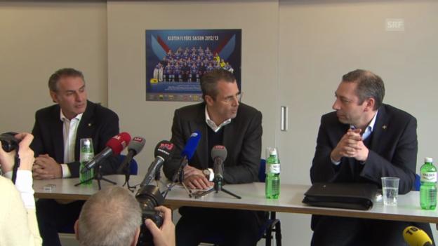 Video «Felix Hollenstein zurück bei den Kloten Flyers» abspielen