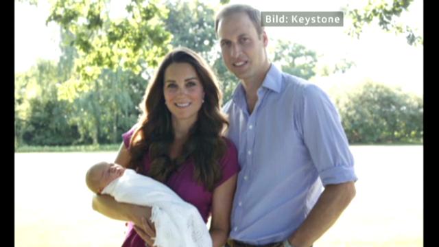 Ungleiche Hochzeit und ein Foto von Prinz George