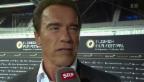 Video «Arnold Schwarzenegger: Süchtig nach Fitness» abspielen