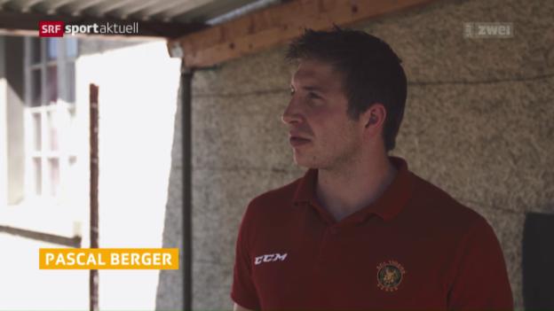 Video «Neuankömmling vs. Urgestein mit den Langnauern Stettler und Berger» abspielen