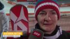 Video «Ski: Slalom der Frauen, Interview mit Kathrin Zettel (sotschi direkt, 21.02.2014)» abspielen