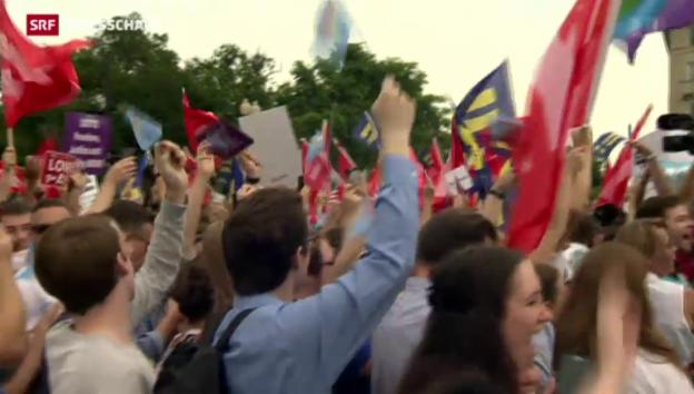 Video «USA legalisieren Homo-Ehe» abspielen