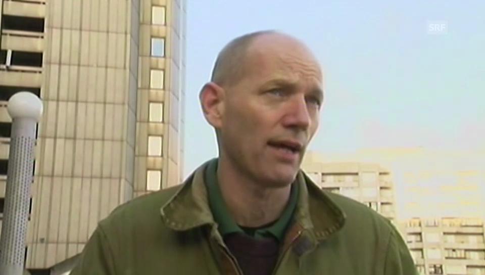 Aktivist Frank Hewetson über die Anmestie (englisch)