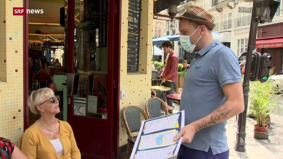 Archiv: Ohne den «Pass Sanitaire» geht in Frankreich nichts