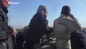 Video «Hauptprobe für die Rückeroberung Mosuls» abspielen