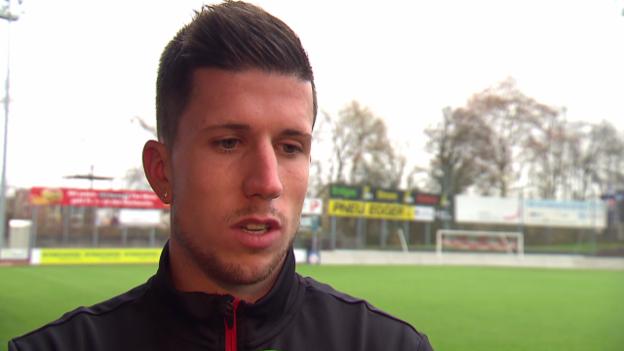 Video «Fussball: Sandro Wieser im Interview» abspielen
