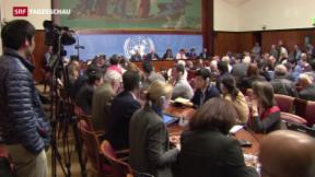 Video «Syrienkonferenz verschoben » abspielen