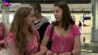 Video «Rendez-vous à Nice: Retrouvailles à l'aéroport (15/20)» abspielen