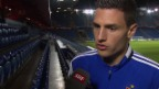 Video «Fussball: Champions League, Basel - Ludogorets Rasgrad, Interview mit Fabian Schär» abspielen