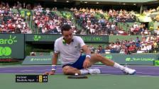 Link öffnet eine Lightbox. Video Federer - Bautista Agut: Die Live-Highlights abspielen