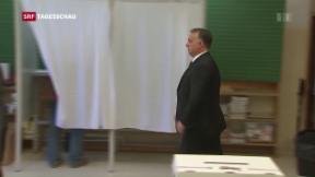 Video «Flüchtlings-Referendum in Ungarn» abspielen