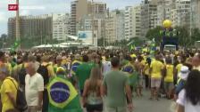Video «Hunderttausende protestieren in Brasilien» abspielen
