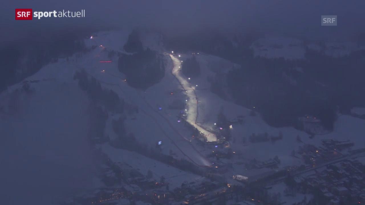 Ski alpin: Zusammenfassung Super-Kombination in Kitzbühel («sportaktuell»)