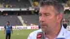Video «Fussball: Urs Fischer nach dem YB-Spiel» abspielen