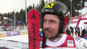 Video «Hirscher: «Dankbar, dass mich Henrik so challangt»» abspielen
