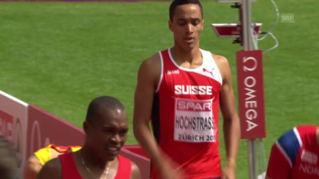 Video «1500 m: Hochstrasser verlor an Boden» abspielen