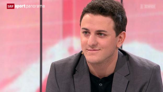 Video «Studiogast: Fabio Leimer, Teil IV» abspielen