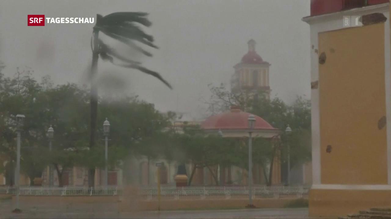 Irma wird vorübergehend schwächer