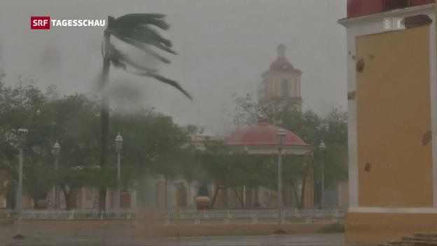 Video «Irma wird vorübergehend schwächer» abspielen