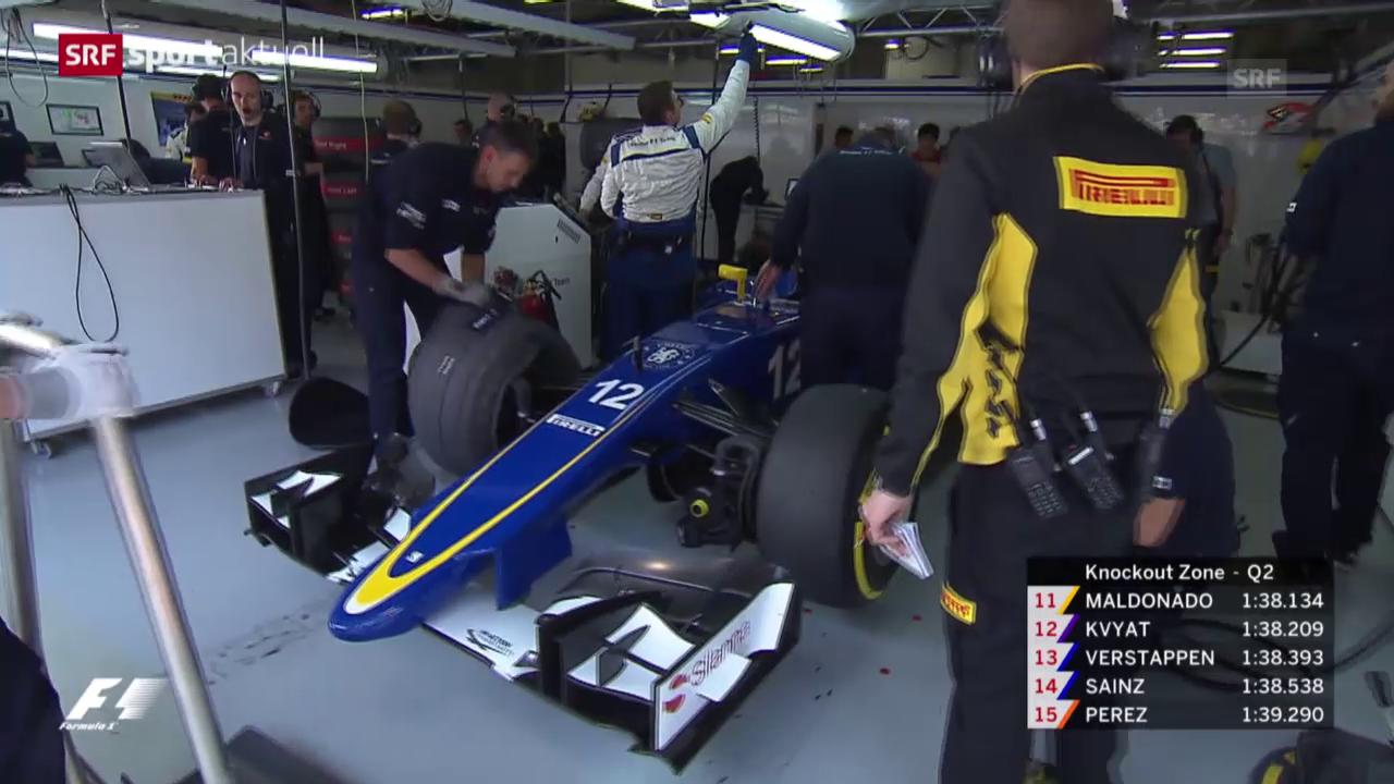Formel 1: GP China in Schanghai, das Qualifying