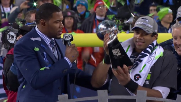 Video «American Football: Seattle gewinnt Super Bowl 2014» abspielen
