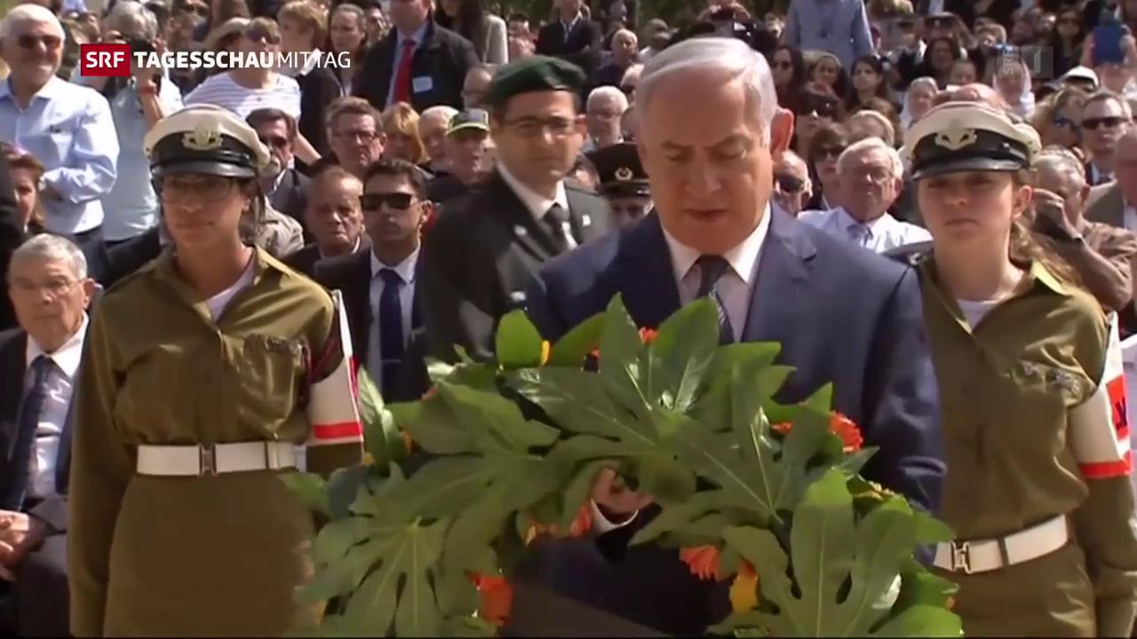 Gedenktag in Israel