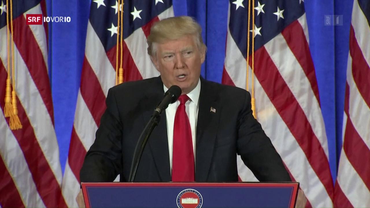 FOKUS: Jetzt spricht Trump