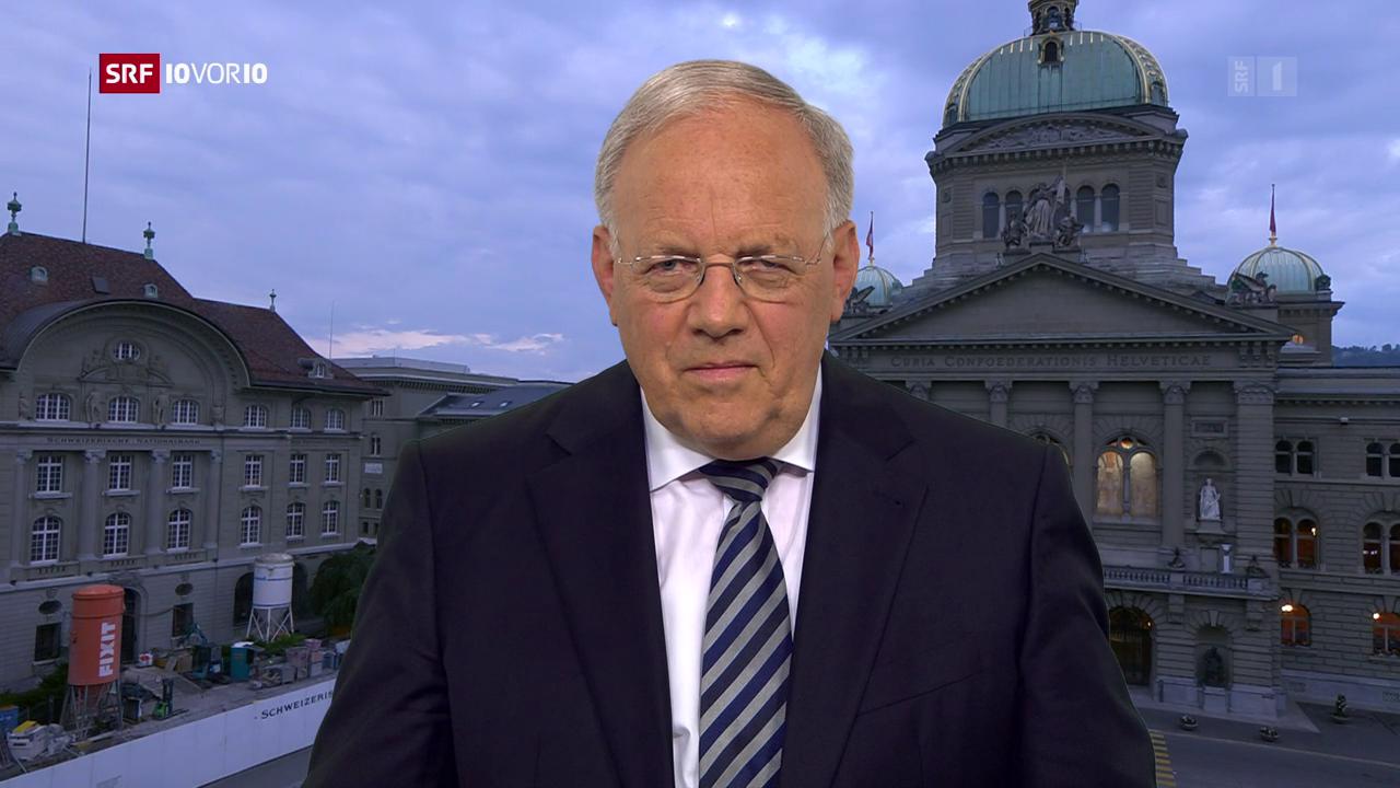 Bundesrat Schneider-Ammann: «Es ist keine Pleite»