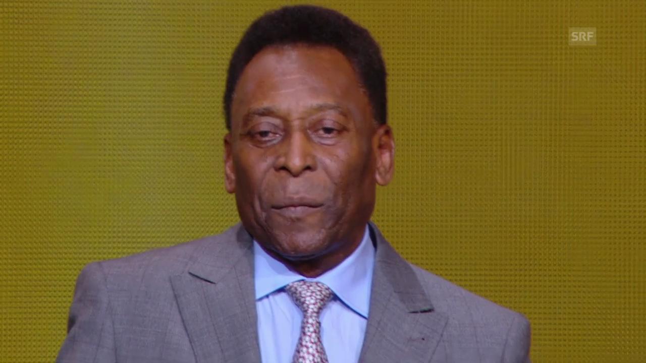 FIFA-Awards: Ehrenpreis an Pelé