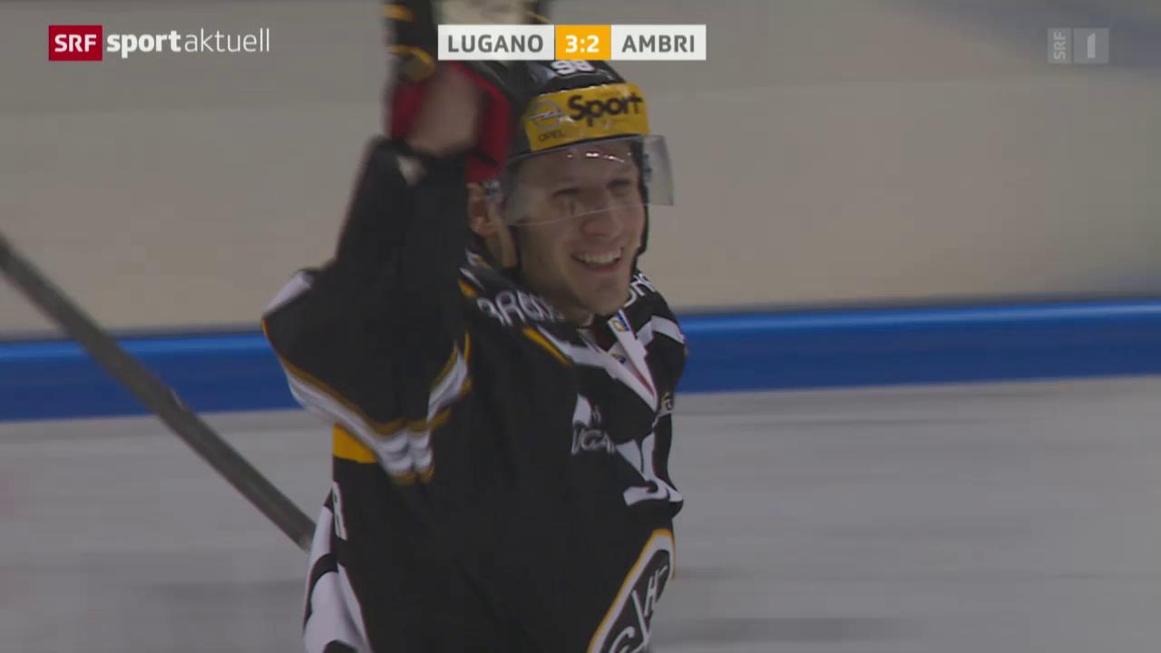 Eishockey: Lugano - Ambri