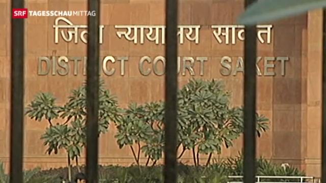 Tumult bei Anhörung der mutmasslichen Vergewaltiger in Indien