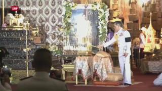 Video «Neuer König Thailands» abspielen