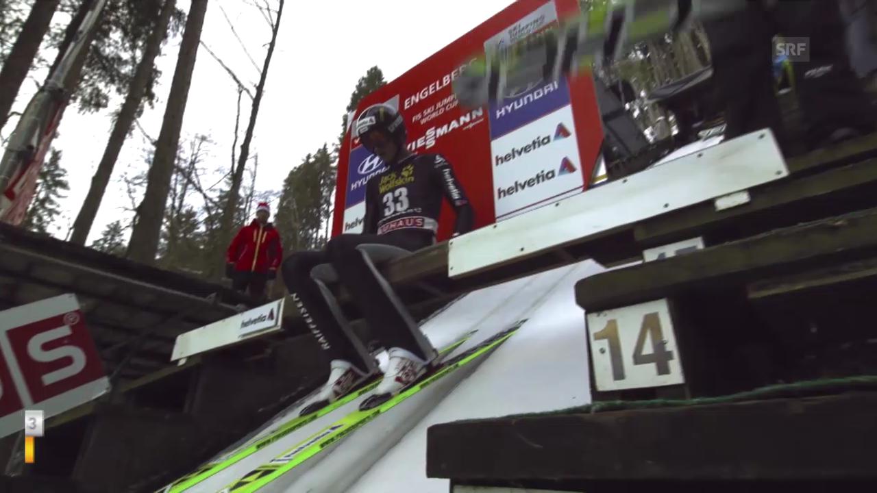 2. Sprung Gregor Deschwanden («sportlive», 21.12.13)