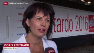 Video «Gotthardtunnel: Countdown bis zur Eröffnung» abspielen