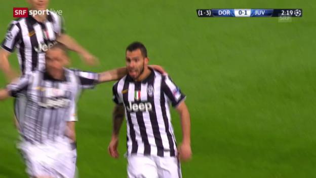 Video «Fussball: CL, Achtelfinal Dortmund-Juventus» abspielen