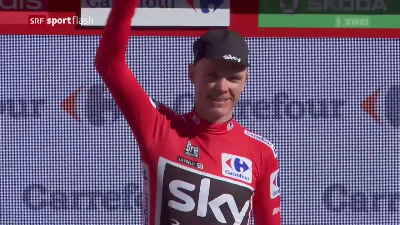Froome schon Vuelta-Leader