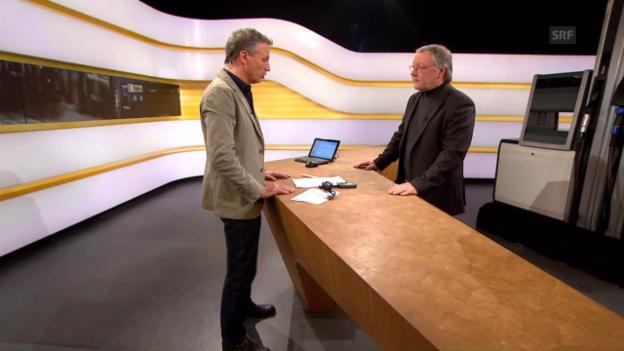 Video «Studiogespräch mit Christian Bach von der Empa» abspielen