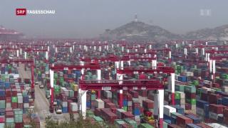 Video «Erste Handelsschlacht zwischen China und USA » abspielen
